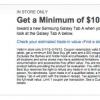 [Alerta Trato] permuta Cualquier tableta de Trabajo, Get $ 100 al comprar el nuevo Samsung Galaxy Tab A En Best Buy